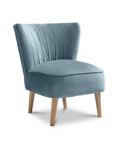 Paris Accent Chair - Plush Teal