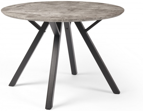 Manhattan Industrial Round Dining Table