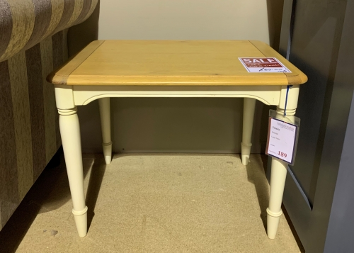 Trinity Painted Lamp Table