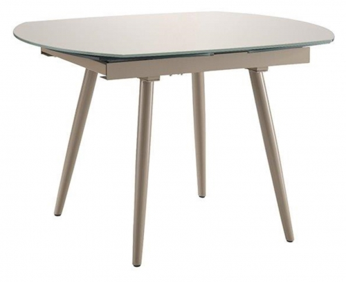 Twist Extending Dining Table - Cappuccino