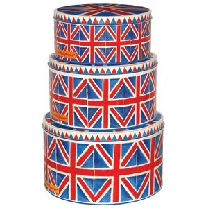 Emma Bridgewater Large union Jack Cake Tin