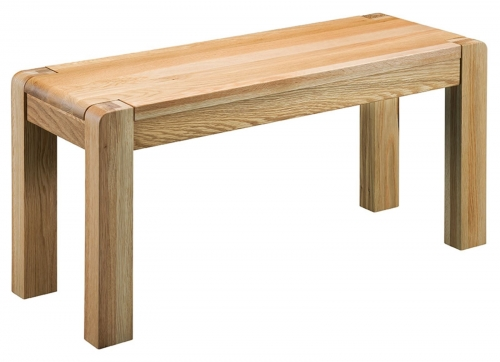 Kilburn Oiled Oak Bench