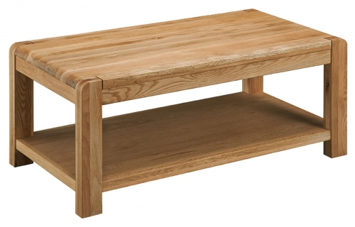 Kilburn Oiled Oak Coffee Table