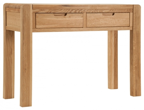 Kilburn Oiled Oak Dressing Table