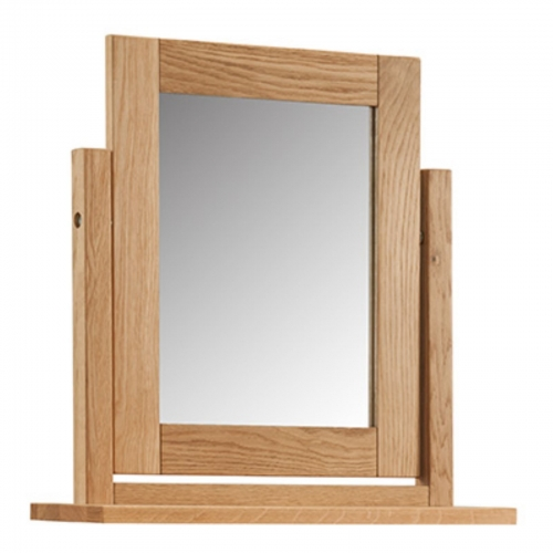 Kilburn Oiled Oak Swing Mirror