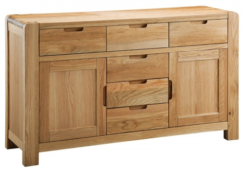 Kilburn Oiled Oak Large Sideboard