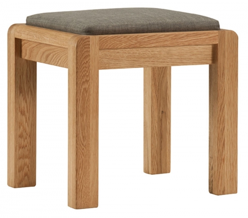 Kilburn Oiled Oak Stool