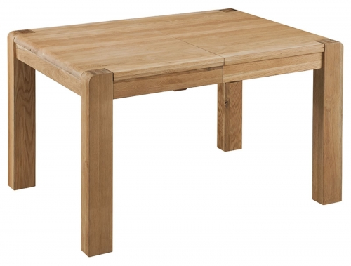 Kilburn Oiled Oak Large Extending Table