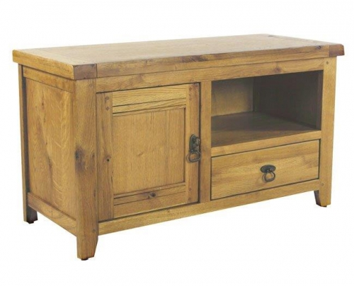 Chambrey Rustic Oak Tv Unit