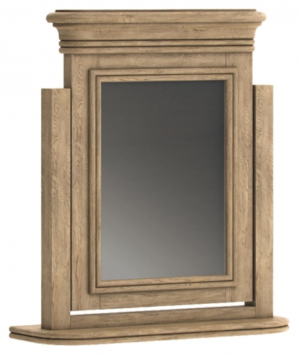 Biarritz French Oak Dressing Table Swing Mirror