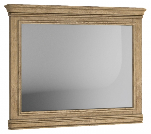 Biarritz French Oak Wall Mirror (Hotizontal)