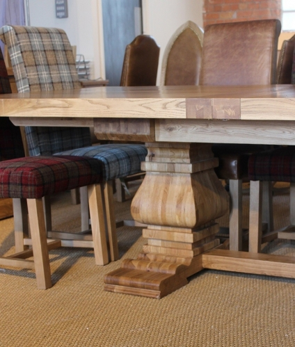 Monastery 450 Extra Large Dining Table Furniture Traders