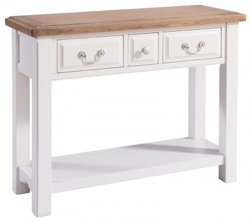 Hastings Grey Painted Console Table