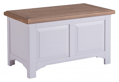 Hastings Grey Painted Blanket Box