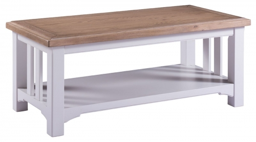 Hastings Grey Painted Coffee Table