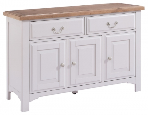 Hastings Grey Painted 3 Door  2 Drawer Sideboard