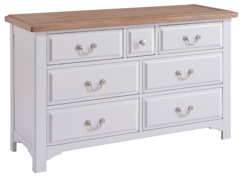 Hastings Grey Painted 3 over 4 Chest