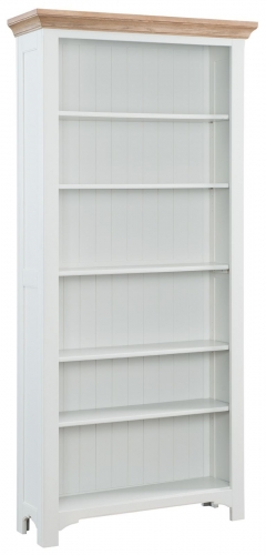Hastings Grey Painted Bookcase