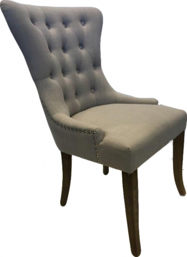 Regency Dining Chair in Almond Fabric
