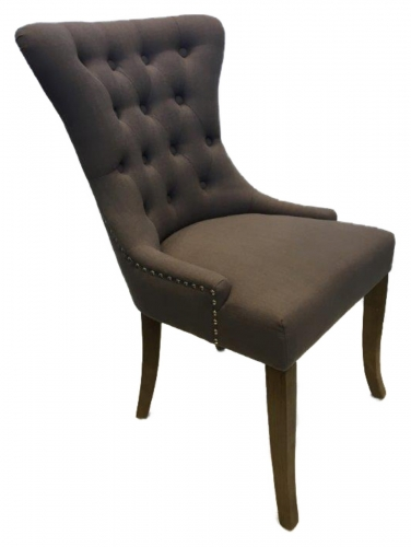 Regency Dining Chair In Slate Fabric