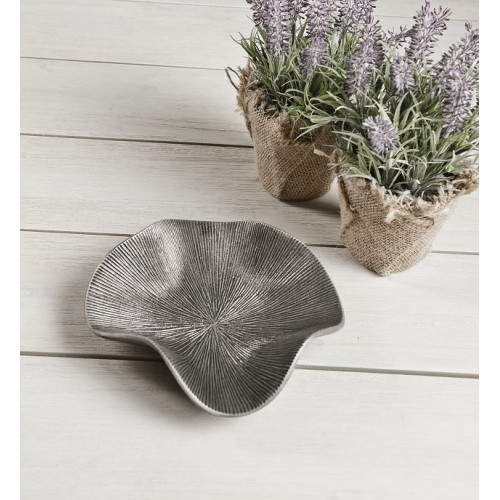 Zinc Antique Wave Bowl Aluminium